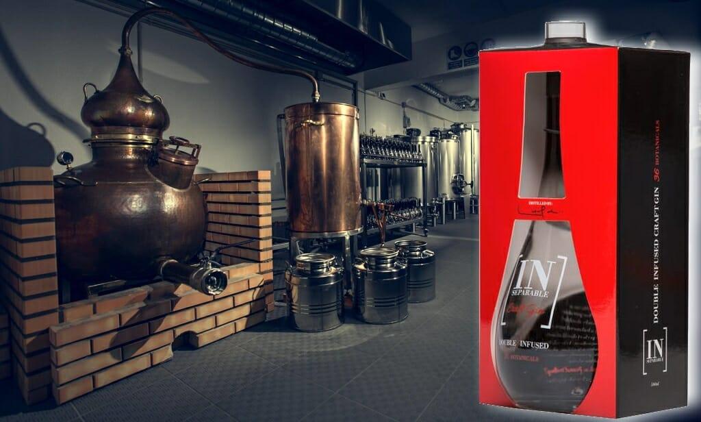 INseparable gin, destilaria