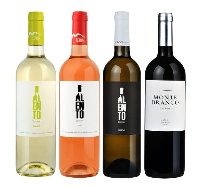 Vinhos Alento e Monte Branco