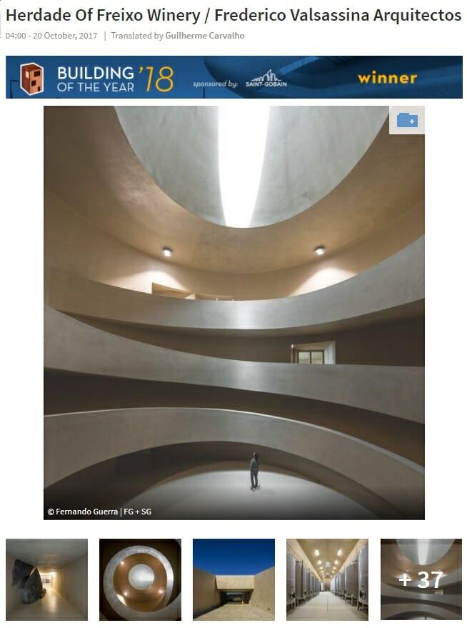 Herdade do Freixo ganha premio de arquitectura