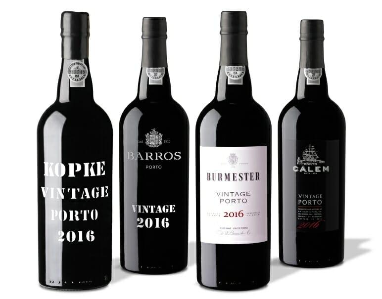 Kopke, Burmester, Cálem, Barros, Porto Vintage 2016