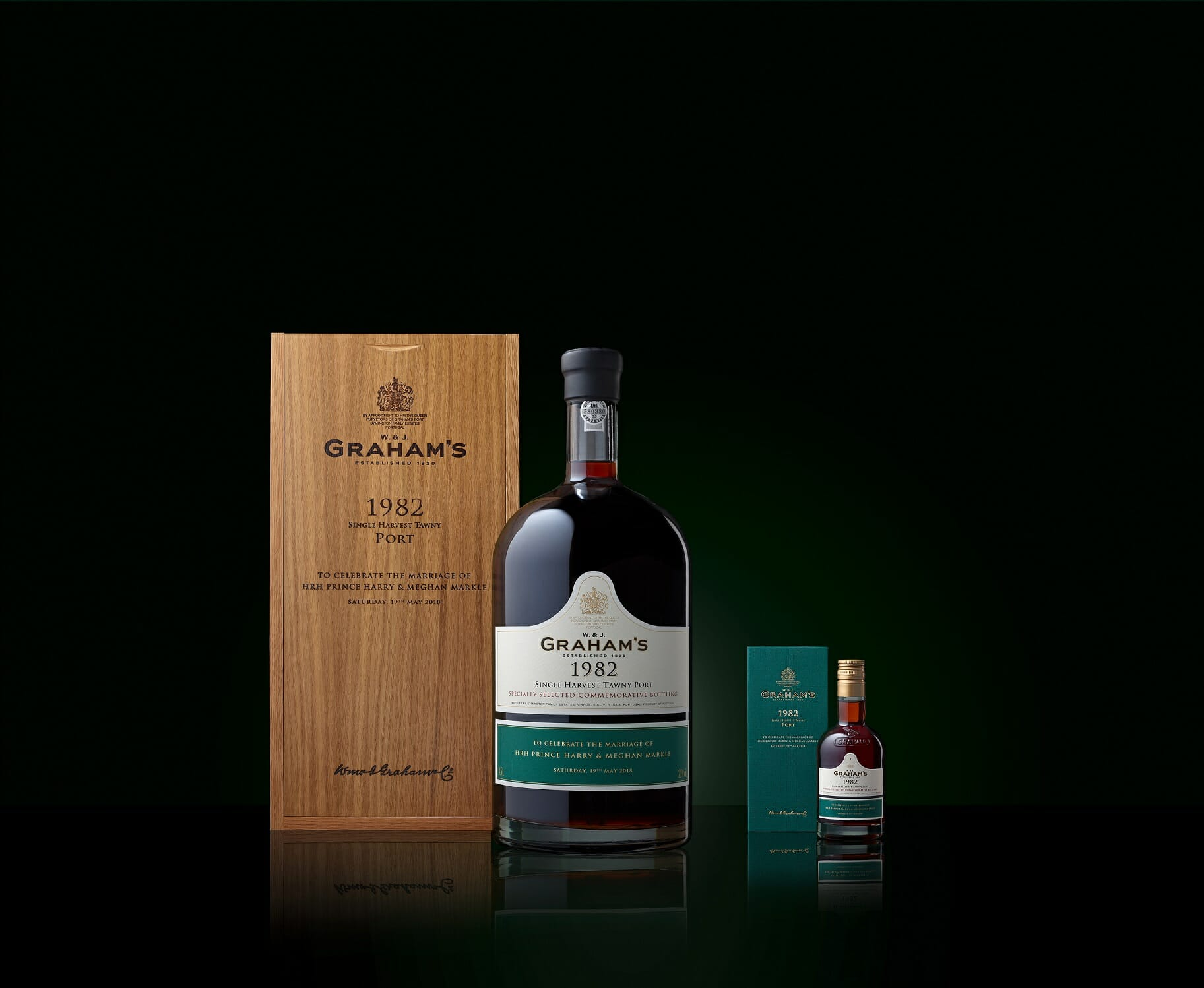 Grahams 1982 Jeroboam E 20cl