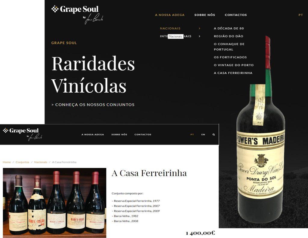 site grapesoul.pt