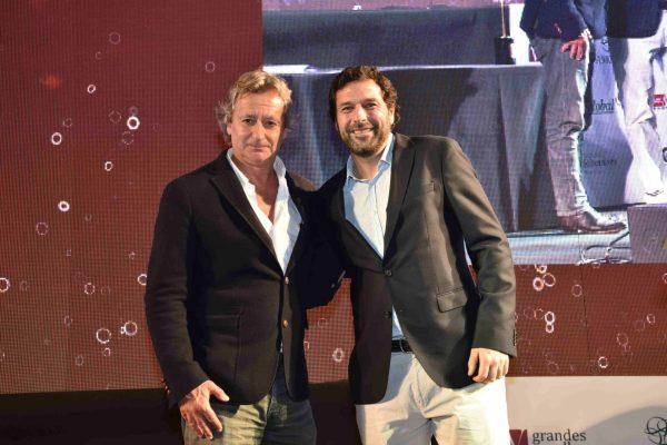 Na Quinta do Crasto trabalhou-se muito bem na viticultura. E por isso o respectivo troféu foi para às mãos de Tomás Roquette. Entregou Isidoro Paiva, da Bayer.
