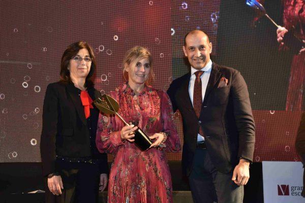 O Enoturismo do ano foi parar à Casas do Côro, em Marialva. Paulo Romão e sua mulher, Carmen, receberam o prémio da Presidente da Câmara Municipal da Anadia, Teresa Cardoso.