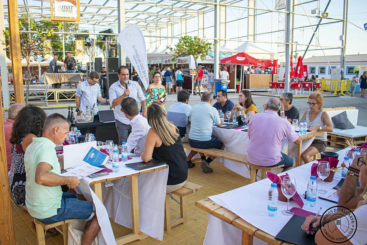 Prova comentada Vinhos do Algarve