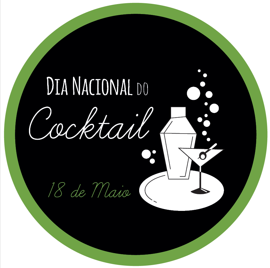 Logotipo Dia Nacional do Cocktail