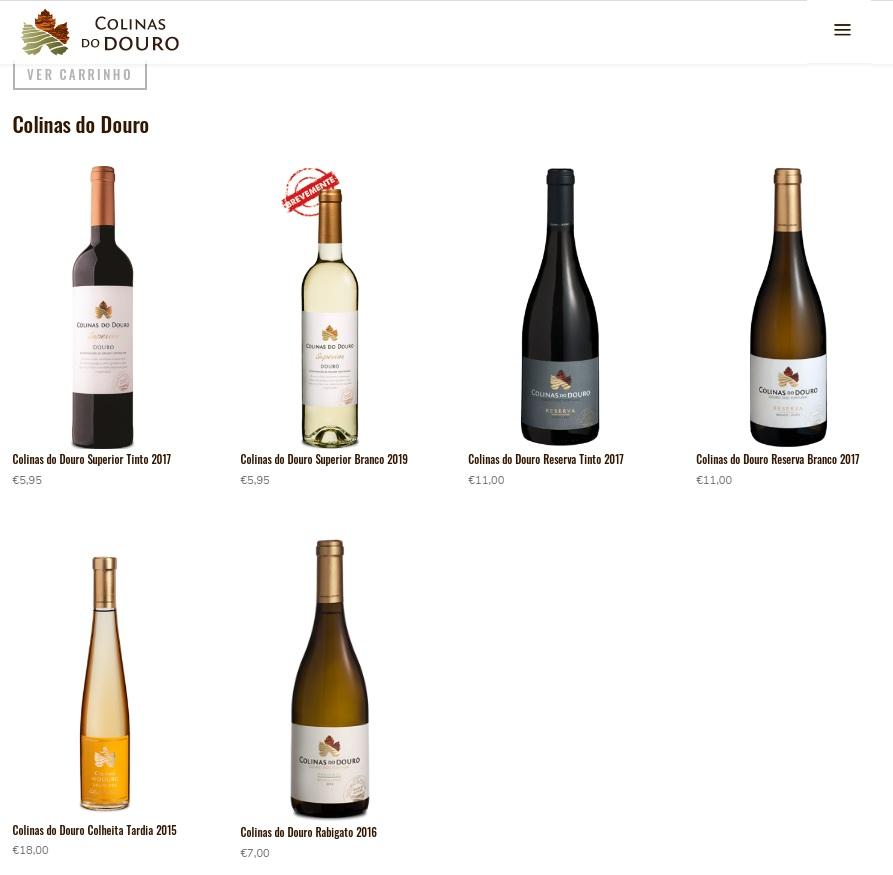 Loja on-line Colinas do Douro