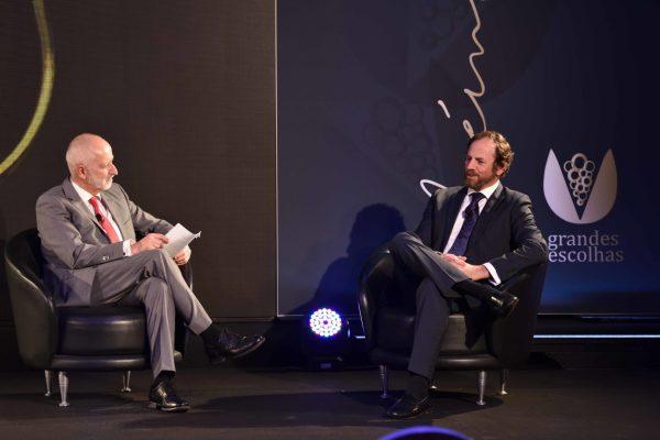 Conversa entre Luís Lopes e Frederico Falcão, presidente da ViniPortugal.
