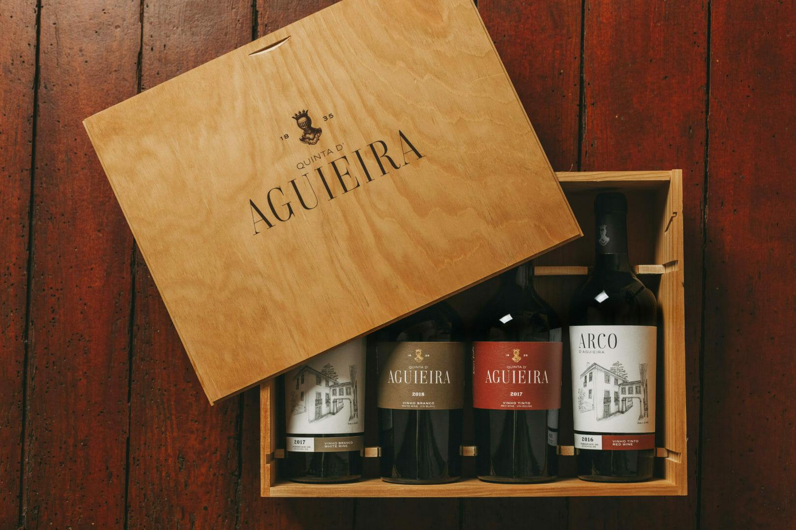 Quinta d'Aguieira vinhos